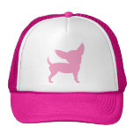 Pink Funny Chihuahua Trucker Hat