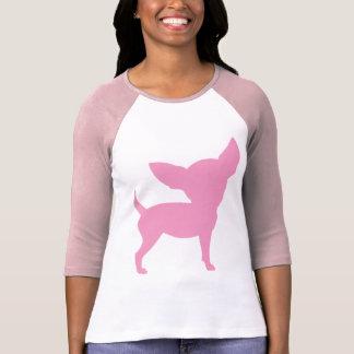 Pink Funny Chihuahua T Shirt