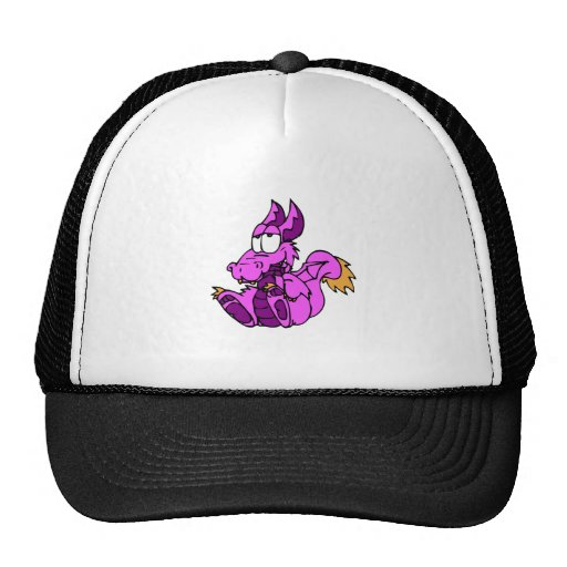 Pink Funny Dragon Hats