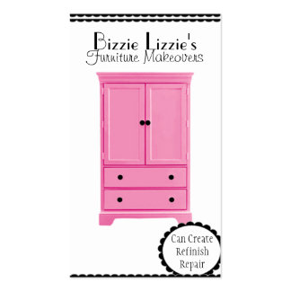 Pink Furniture Business Card