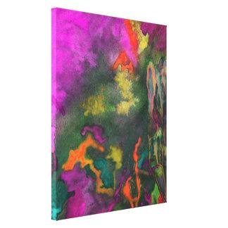 Pink Fusion 2 Fine Art Canvas Print