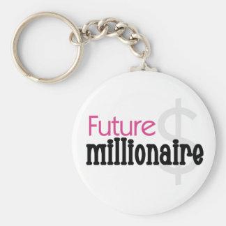 PINK FUTURE MILLIONAIRE KEYCHAIN