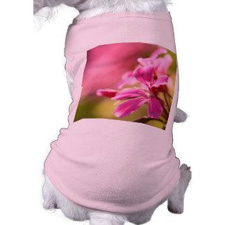 Pink garden flower shirt