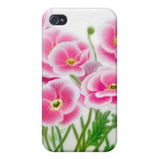 Pink Garden Poppies Speck Case