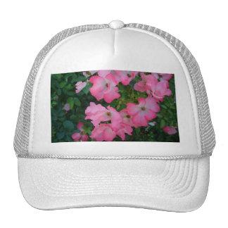 Pink Garden Rose Floral Pretty Girly Stuff Trucker Hat