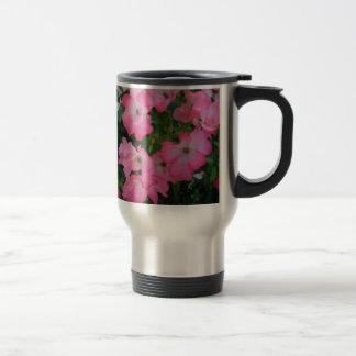 Pink Garden Rose Floral Pretty Girly Stuff Travel Mug