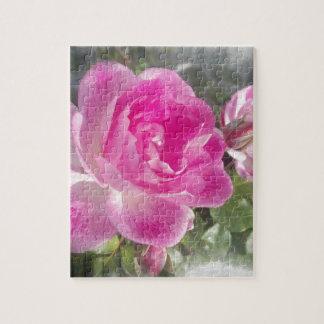 Pink Garden Rose Puzzles