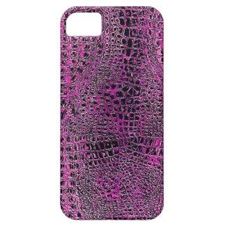 Pink Gator Skin iPhone 5 Covers