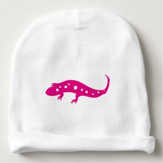 Pink Gecko Baby Beanie