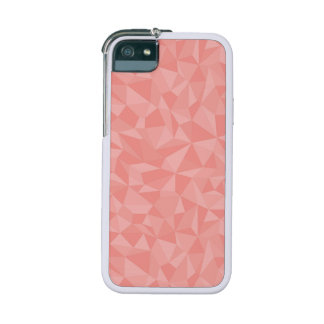 Pink Geometric Abstract Pattern iPhone 5 Covers