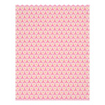 Pink Geometric Baby Pattern Scrapbook Paper Pages Letterhead