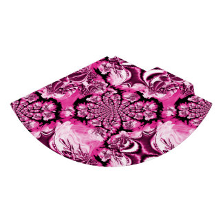 Pink Geometric Elegant Swirls Stars Party Hat