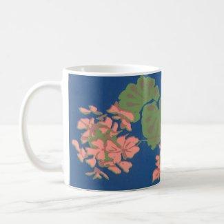 Pink Geranium Mug mug