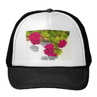 Pink Geranium Trucker Hat