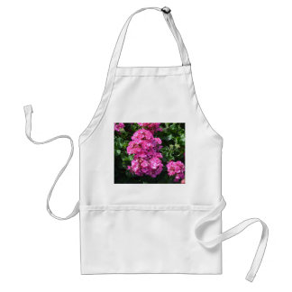 Pink Geraniums Adult Apron