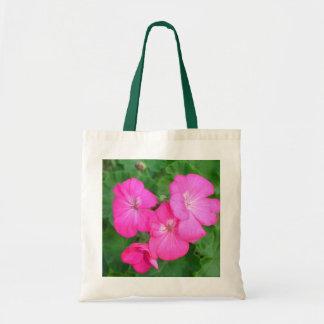 Pink Geraniums Bag