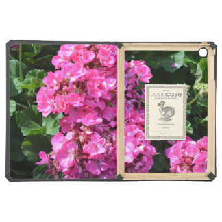 Pink Geraniums Case For iPad Air