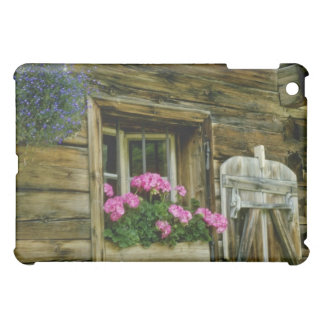 Pink Geraniums in window flowers Case For The iPad Mini