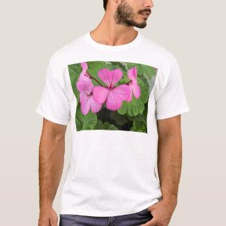 Pink geraniums T-Shirt