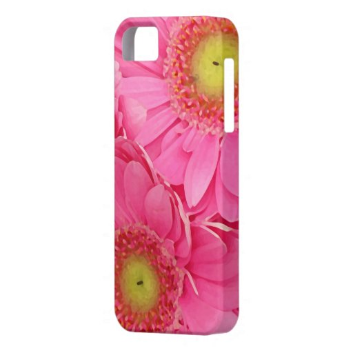 Pink Gerber Daisies iPhone 5 Covers
