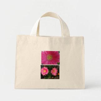Pink Gerbera Daisies Mini Tote Bag