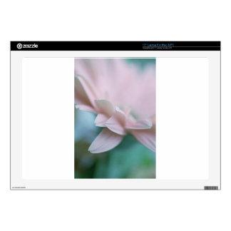 "Pink Gerbera Daisy 17"" Laptop Decals"