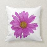 Pink Gerbera Daisy Customizable Pillow