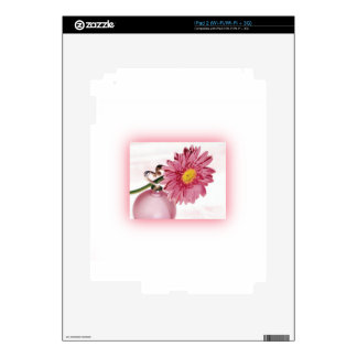 Pink Gerbera Daisy Decal For iPad 2