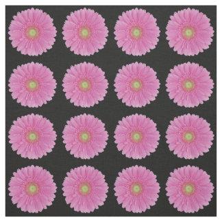 Pink Gerbera Daisy Fabric - Fashion, Home, Wedding