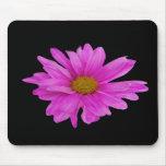 Pink Gerbera Daisy Flower Customizable Mousepad