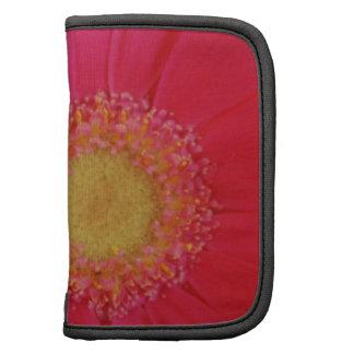 Pink Gerbera Daisy Folio Planners