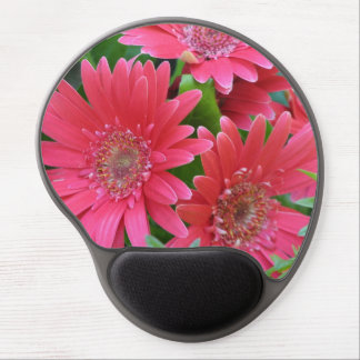 Pink Gerbera Daisy Gel Mouse Pad
