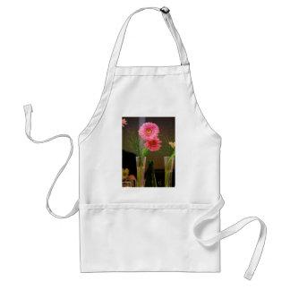 Pink Gerbera Daisy Gifts Adult Apron