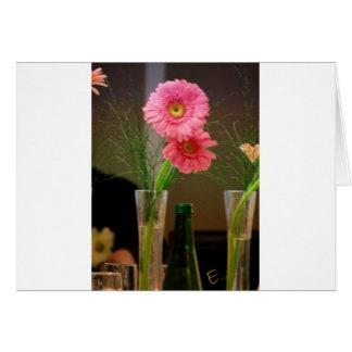Pink Gerbera Daisy Gifts Card