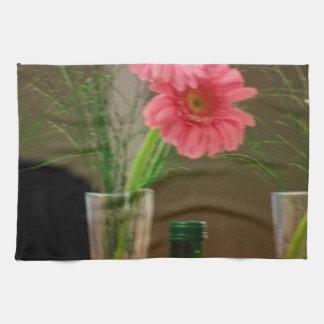 Pink Gerbera Daisy Gifts Hand Towel