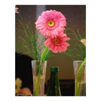 Pink Gerbera Daisy Gifts Letterhead