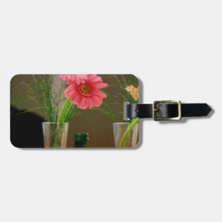 Pink Gerbera Daisy Gifts Tag For Luggage