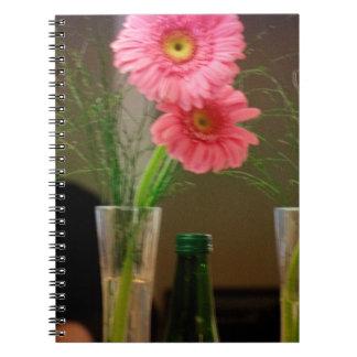 Pink Gerbera Daisy Gifts Notebook