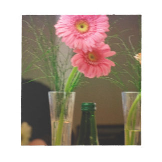 Pink Gerbera Daisy Gifts Note Pads