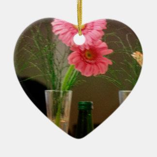 Pink Gerbera Daisy Gifts Christmas Ornament