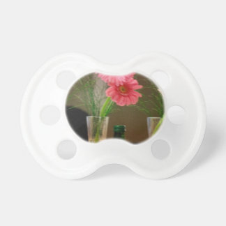 Pink Gerbera Daisy Gifts Pacifiers