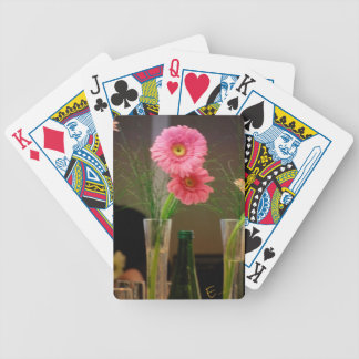 Pink Gerbera Daisy Gifts Bicycle Card Deck