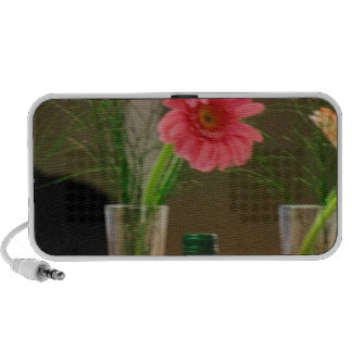 Pink Gerbera Daisy Gifts Travelling Speakers