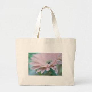 Pink Gerbera Daisy Large Tote Bag