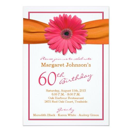 Discover Card Design Gerbera Daisy