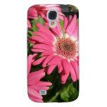 Pink Gerbera Daisy Samsung Galaxy S4 Covers