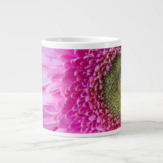 Pink Gerbera Daisy Specialty Coffee Mug 20 Oz Large Ceramic Coffee Mug