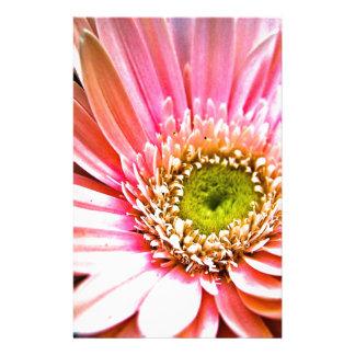 Pink Gerbera Daisy Custom Stationery