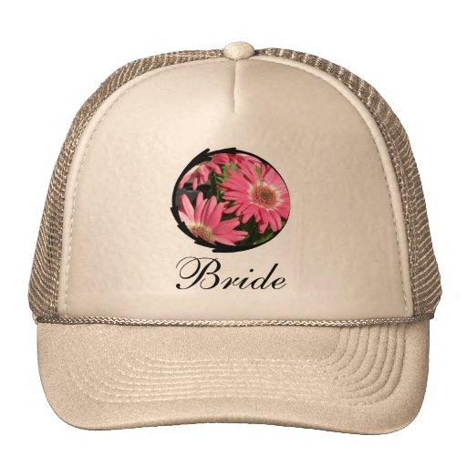 Pink Gerbera Daisy Trucker Hat