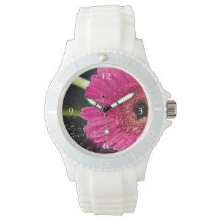 Pink Gerbera Daisy Watch
